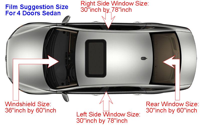 3m window film crystalline 70 vlt cr70 automotive saloon sedan discount set ebay. Black Bedroom Furniture Sets. Home Design Ideas